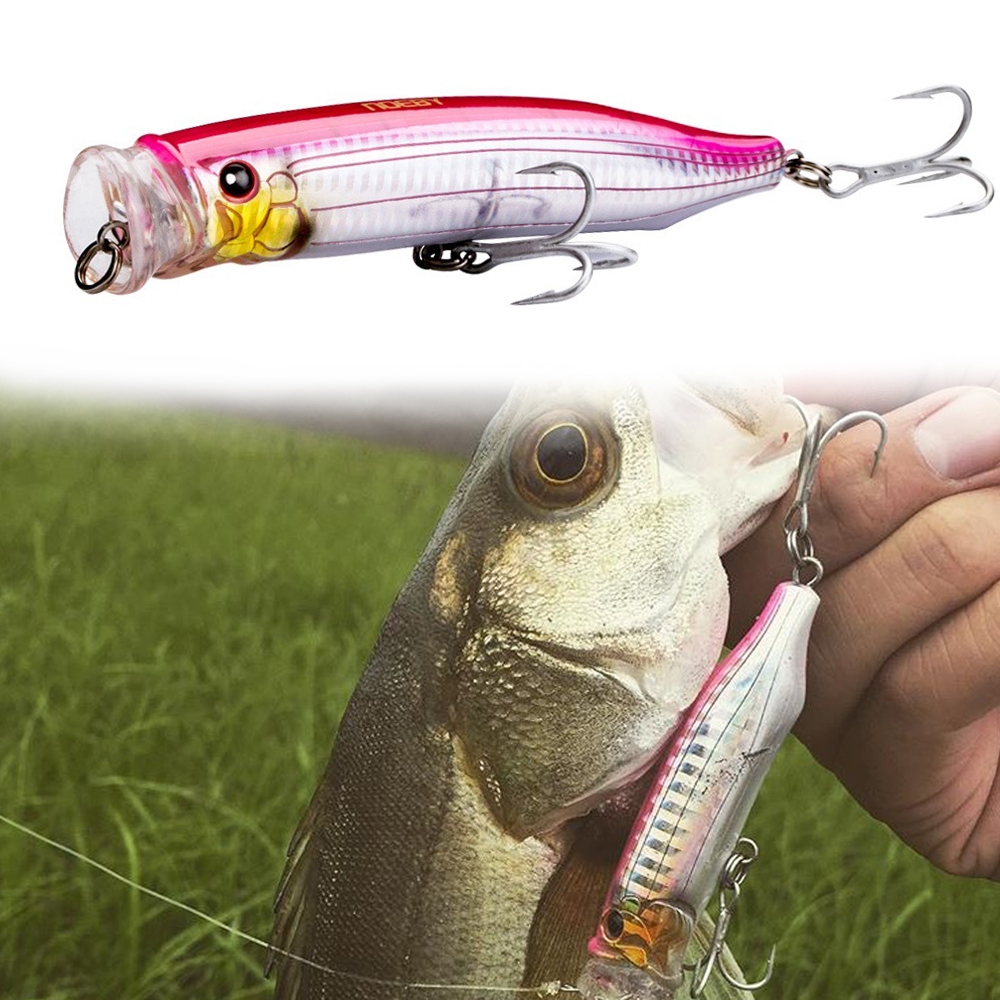 NOEBY Topwater lure feed popper bait 100mm 120mm 150mm floating lure for fishing bass TACKLE HOUSE grosses liches tuna fishing image
