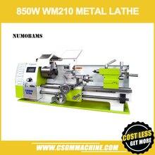 NUMOBAMS MT5 ציר עם 850W Brushless מנוע & הרווה מיטת WM210V מיני מתכת מחרטה מכונת