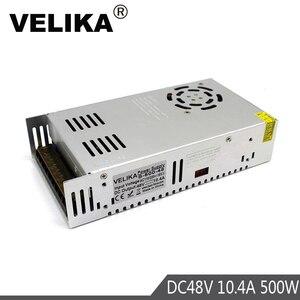 Image 4 - אחת פלט 12V 24V 36V 48V 500W ספק כוח שנאי 110V 220V AC כדי DC מקור כוח נהג עבור Led אור CCTV צעד