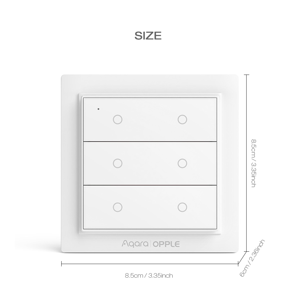 Aqara zigbee 3.0 opple sem fio interruptor