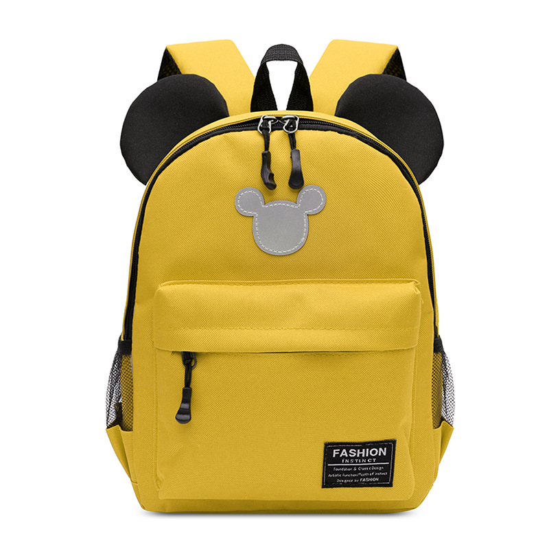 New Kindergarten Small Class Schoolbag Cartoon Mickey Children Backpack 2-5 Years Old Boys And Girls Travel Play Backpack