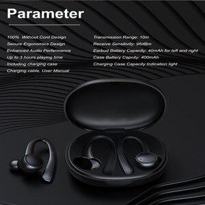 Image 4 - אלחוטי TWS ספורט bluetooth אוזניות באוזן סיליקון רך Hifi סטריאו bluetooth 5.0 אוזניות עם טעינת תיבת T7 פרו עבור טלפון