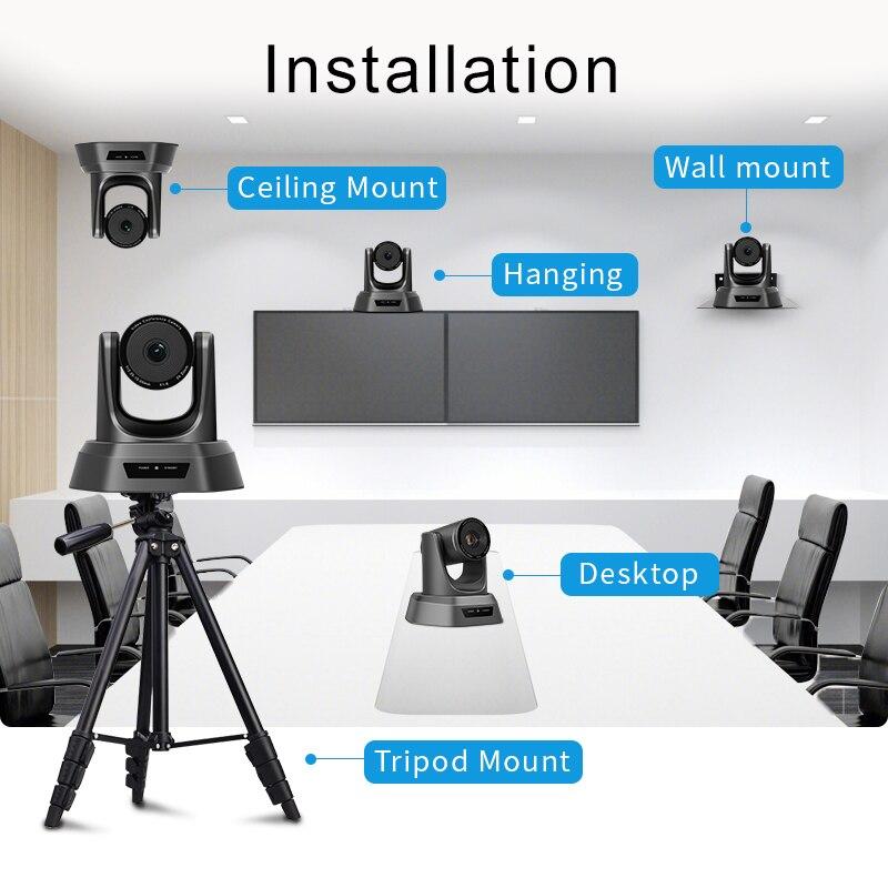 [Estoque da ue] livre de impostos nv10a 10x zoom 2mp 1080p ptz câmera de vídeo conferência usb 3g-sdi e hdmi 3 saídas para transmissão multimídia-5