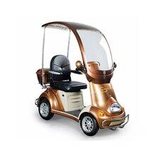 Электрический скутер для инвалидов скутер, способный преодолевать Броды для старика 48v 500w с тремя колесами