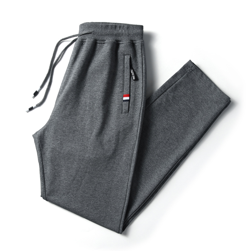 2019 Spring Explosion Models Men's Fashion Cotton Loose Straight Pants Large Size S-4XL Men's Stretch Comfortable Casual Pants