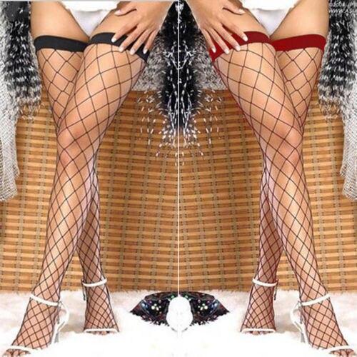 Новинка летние женские сексуальные однотонные кружевные Длинные Топы до бедра сексуальные тонкие чулки сетчатые ажурные черные чулки Чуло...