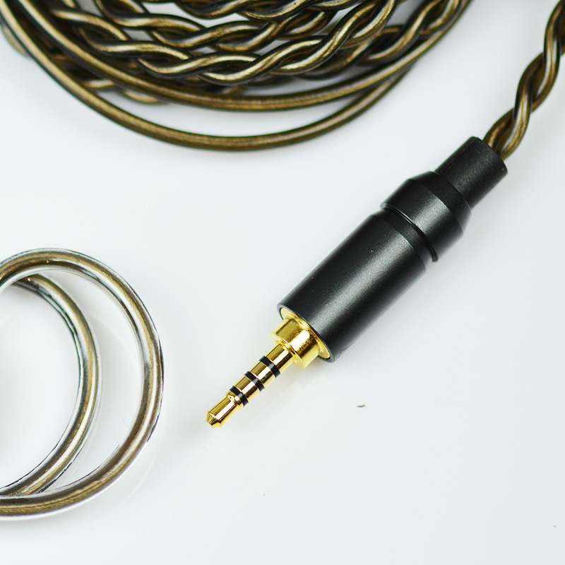 2-контактный наушник аксессуары,2.5 сбалансированный кабель для обновления мм 0.78 мм совместим с HiBy семена II наушники