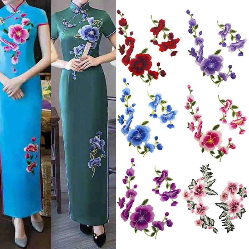 Nuovo Arrivo del fiore della rosa di patch ricamo di applique vestiti da cucire patch FAI DA TE di patch distintivo accessori 1pcs di vendita