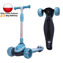 Kick Scooter For Children Ride On Car Baby Walker Balance Bike 3 Wheel Adjustable Height Tricycle Sports Kids Toys Birthday Gift