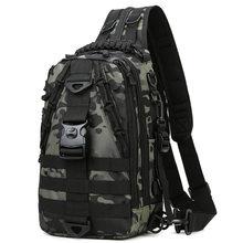 SUUTOOP – sac à bandoulière tactique militaire pour hommes, sac de poitrine d'extérieur pour randonnée, Camping, sport, Trekking, escalade, pêche
