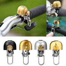 Vintage Cycling Bicycle Bell Safety Copper Sound Handlebar Classical Ring Horn Safety Bike Sport Alarm Bell Bicycle Accessories цены