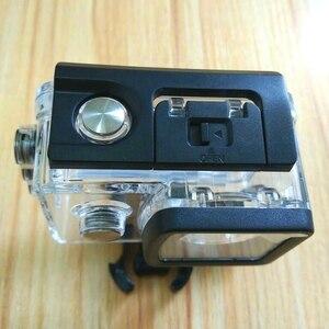 Image 2 - SJ5000X الأصلي اكسسوارات 30M تحت الماء للماء حالة الغلاف الواقي حالة قذيفة ل SJ5000 wifi زائد كاميرا كلوونفيش
