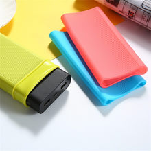 Superventas 2019 productos funda protectora antideslizante de silicona suave para Xiaomi Power Bank 3 20000mAh soporte dropshipping(China)