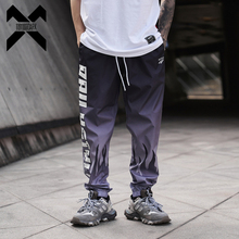 11 BYBB'S DARK Mens Joggers Hip Hop Streetwear Polyester Pants Men Harajuku Hiphop Ankle-length Pant Elastic Waist Male XN54