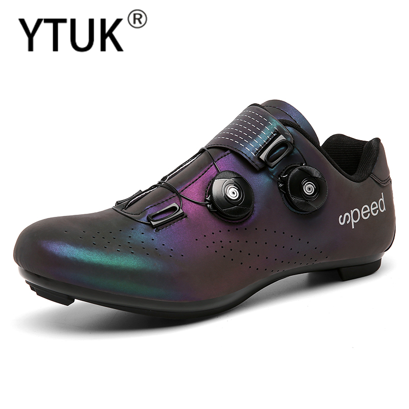 Promo YTUK Professional Athletic Bicycle Shoes MTB Cycling Shoes Men Self-Locking Bike Shoes sapatilha ciclismo Women Road bike shoes 10000218362743