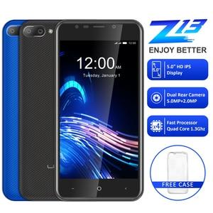 """Image 2 - LEAGOO Z13 telefon komórkowy 5.0 """"ekran IPS 1GB RAM 8GB ROM podwójna kamera tylna Dual SIM 2000mAh Android czterordzeniowy 3G Smartphone"""