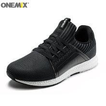 Новинка мужские кроссовки onemix для бега сетчатая спортивная
