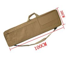 Tactical Gun Bags Army Sniper Rifle Bag Outdoor Hunting RIfle Backpack Sport Nylon Bag Gun Holster With Cushion Pad 85cm/100cm outdoor hunting rifle backpack airsoft tactical gun rifle bag nylon heavy duty rifle case with protection cushion 85cm 100cm