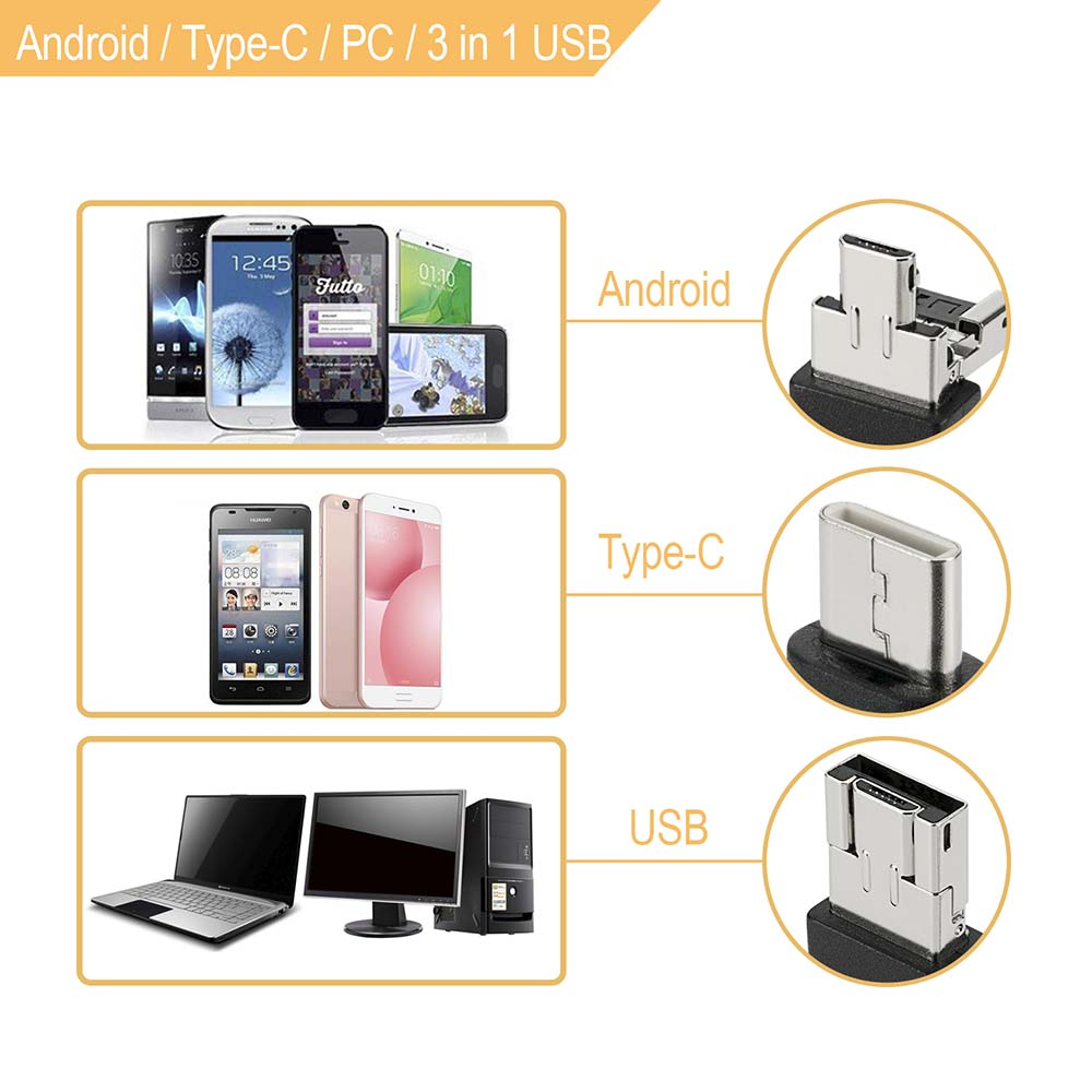Camera  Borescope Android Phone Ear 9MM PC 3 USB Inspection Mini OTG Waterproof Endoscope For Medical Endoscope Camera Nose
