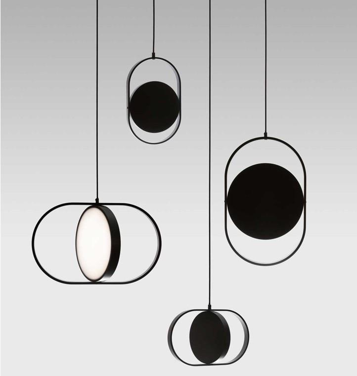 Luminaire Suspendu Industrial Lamp Crystal LED  Pendant Lights Bedroom Hanging Lamp