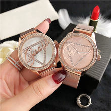 reloj mujer New brand luxury women's watches ladies Dress diamond watch women Rhinestone Wrist Watch Bracelet rose quartz Clock