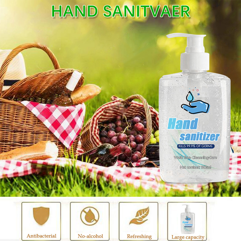 300ml Effective Disinfection Hand Cleaner Sanitizer Hand Soaps Disposable Rinse Free Hand Sanitizer Coronavirus prevention