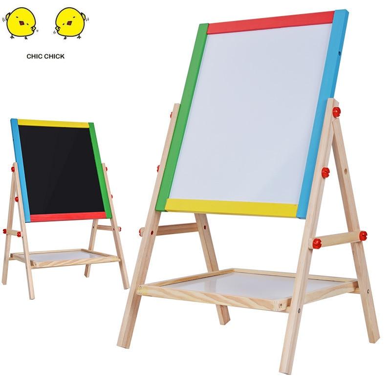 Neue Ankunft Holz Tafel Spielzeug Magnet Malerei Zeichnung Bord Kinder Kinder Pädagogisches Geschenk Chrismas Geschenk - 2