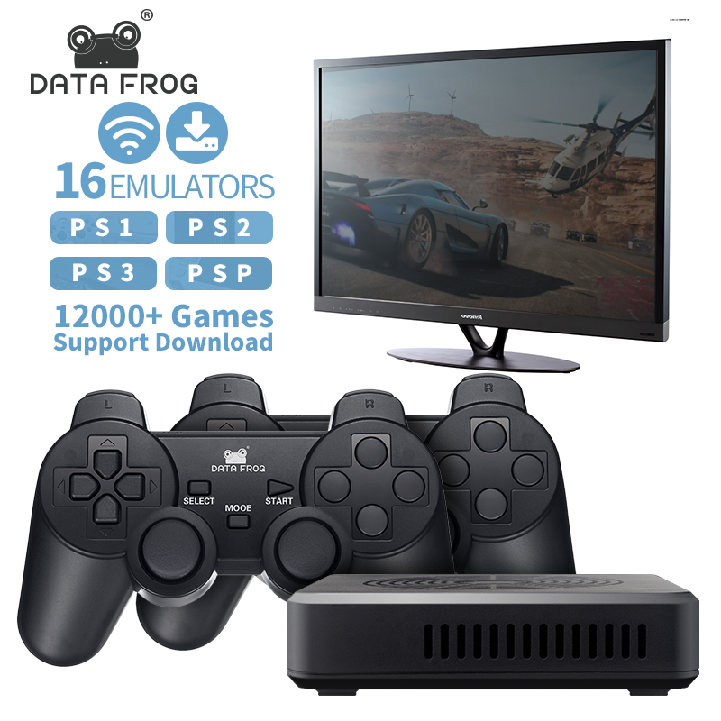 Data Frog Retro Game Console Built In 3000 Games 100 3d Games For