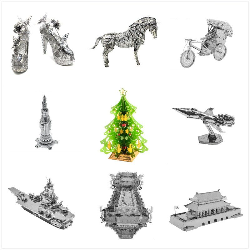 Miscellaneous 3D Metal Puzzles Model Kits Boat Ships Building Assemble Jigsaw Adult Gifts Toys Star Wars Collection