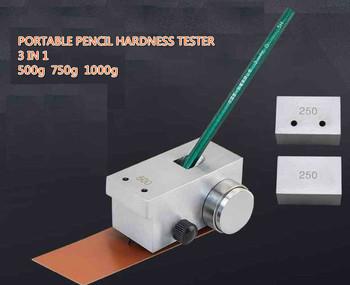 Nowy 3 w 1 przenośny ołówek twardościomierz miernik 500g 750g 1000g QHQ-A ołówek twardościomierz tanie i dobre opinie niusiwen ANALOG China