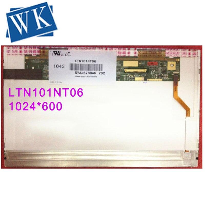 Free Shipping LTN101NT06 B101AW03 LTN101NT07 LP101WSA TLA1 LTN101TN02 N101L6-L02 M101NWT2  LED Display Laptop Screen