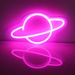 Image 5 - LED ניאון סימן 13 18 אינץ גדול ניאון שלטי LED אור עם אקריליק חזרה לבר חנות בירה KTV מועדון מסיבת אמנות קיר קישוט D35