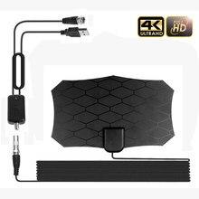 Kebidumei – antenne TV numérique HD 4K, 50 Miles, amplifiée en intérieur, pour chaînes locales, télévision domestique