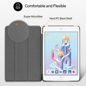 Image 5 - Чехол для iPad Mini 4 5 2019 с держателем для карандашей, силиконовый чехол для iPad Mini 1 2 3, чехол подставка из искусственной кожи с автоматическим спящим режимом