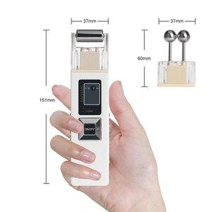 Image 4 - Galvanische Microcurrent Huid Verstevigende Wijting Machine Iontoforese Anti Aging Massager Huidverzorging Spa Salon Beauty
