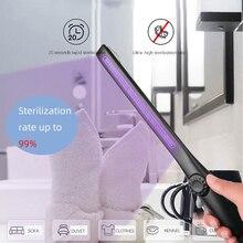 30 LED uv sterilizer Stick USB rechargeable Portable Household lamp Sterilized uvc flashlight Sterilizing