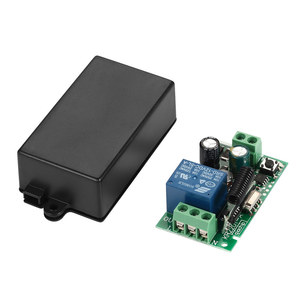 Image 5 - 433MHz Universal Remote Control Switch AC 85V 250V 4 CH Relay Receiver Module 4 Button Remote Control Garage Light Lamp Switch