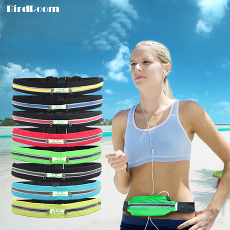 Stretch Waist Packs For Women Fitness Running Pockets Elastic Gym Bags Elastic Close-fitting Men Sports Bag Mobile Phone Package
