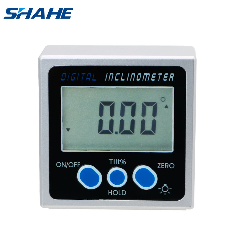 Digital Magnetic Protractor Angle Gauge Inclinometer Angle Digital Finder Levels Magnetic inclinometer digital With Backlight(China)