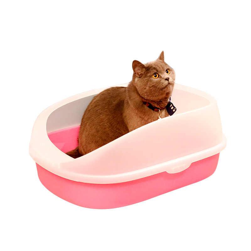 Toaleta dla psów kuweta dla kota taca dla kota Teddy Anti-Splash toaleta z żwirem dla kota łopata dla kota Puppy Cat Indoor Home Sandbox
