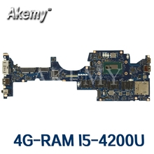 ZIPS1 LA-A341P Laptop motherboard für For Lenovo ThinkPad YOGA S1 original mainboard 4G-RAM I5-4200U