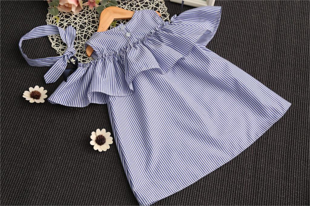 H10c66fc03e0f4df18b4513e0425c88c8b Lemon Girl Baptism New 2018 Sleeveless Kid Dresses Girls Party Princess Vestidos Nina 6 7 Year Cowboy Dress