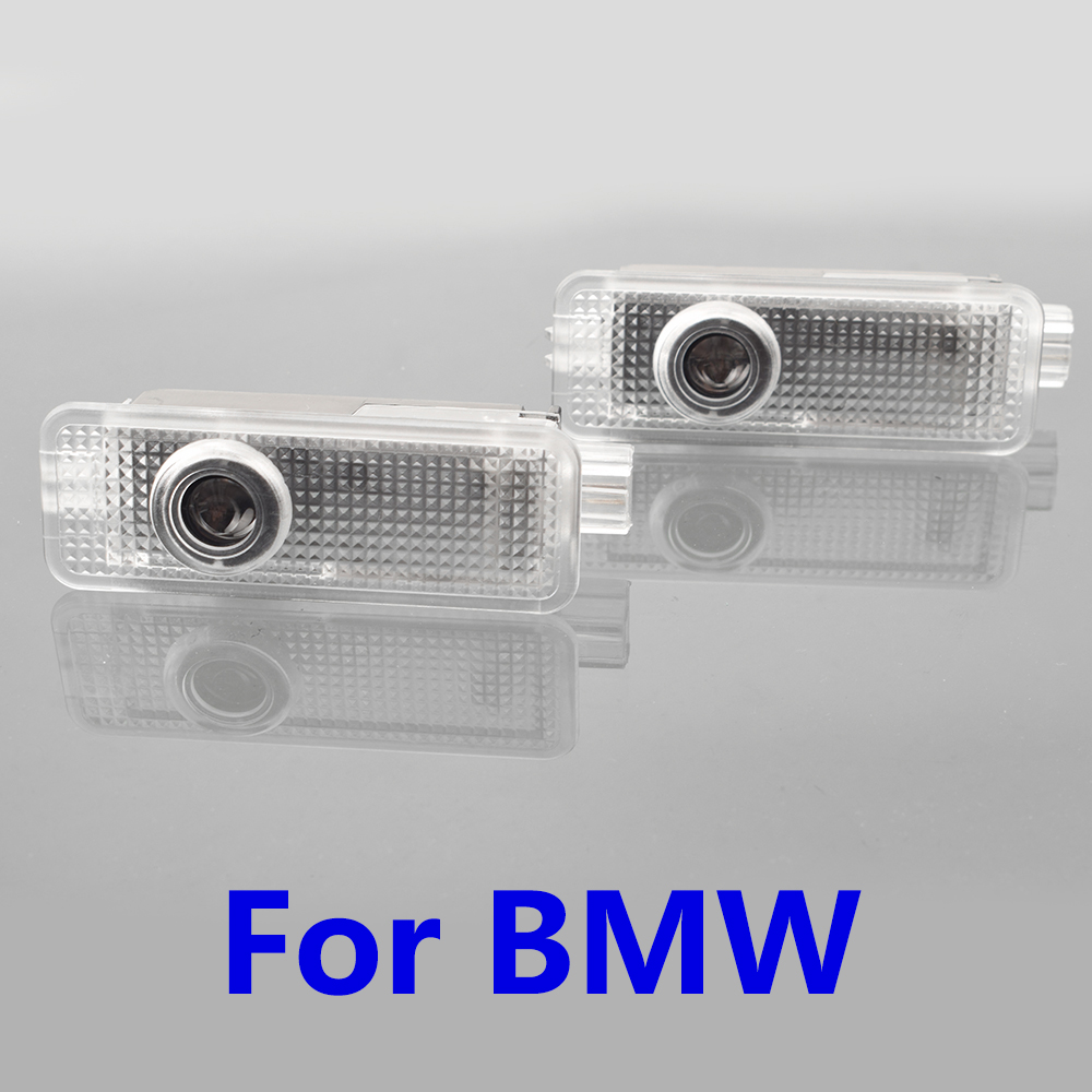 2x Car Door Laser Projector Logo Ghost Shadow Light For BMW E90 E60 F10 E87 X5 E70 E92 E91 GT Z4 X1 X3 X4 F26 F15 E71