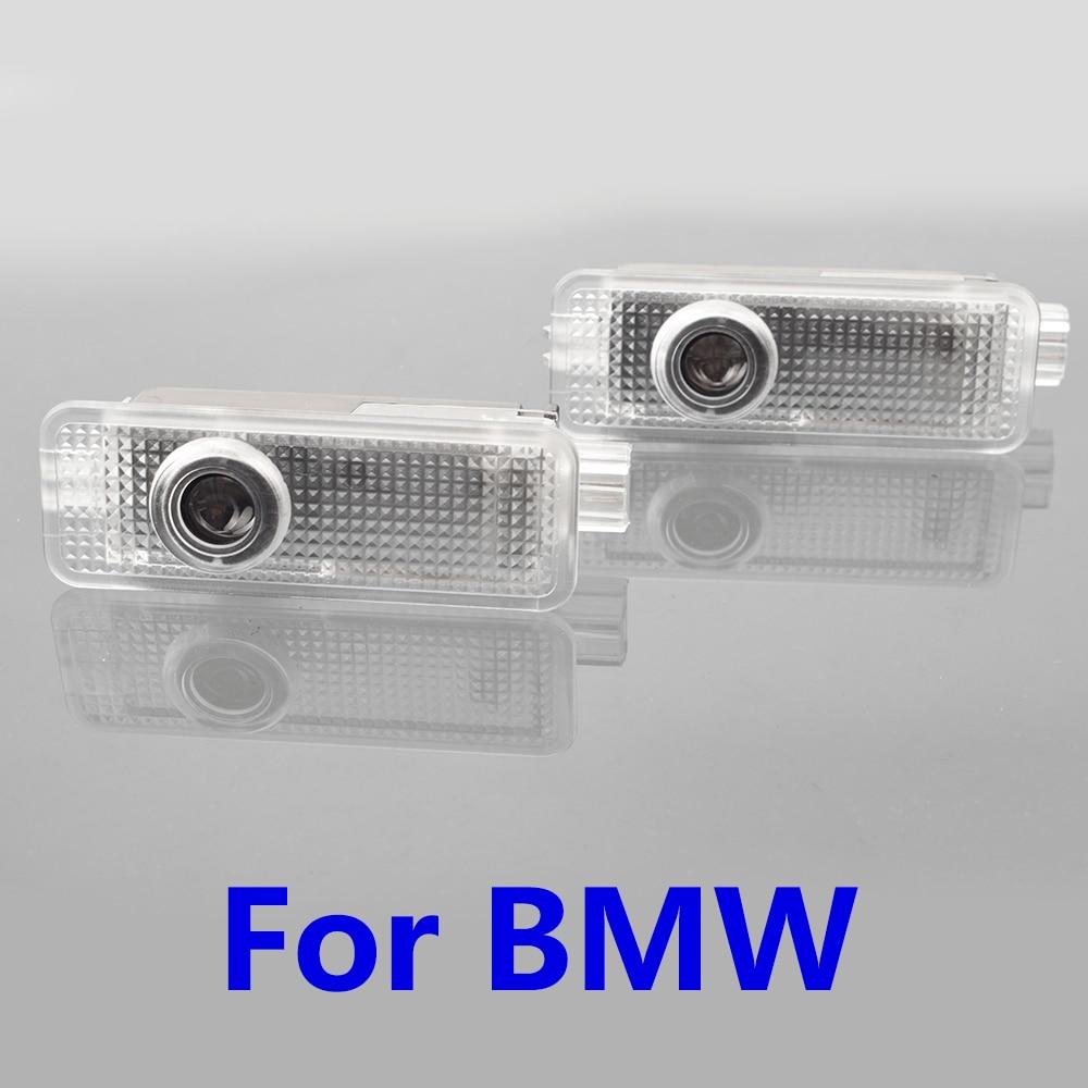 2x Car Door Laser Projector Logo Ghost Shadow Light For BMW E90 E60 F10 E87 X5 E70 E92 E91 GT Z4 X1 X3 X4 F26 F15 E71