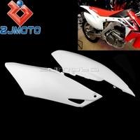 Motocross Side Plastic Fairing Dirt Bike Side Cover Side Pannels For Honda CRF450R 2013 2016 CRF250R 2014 2017