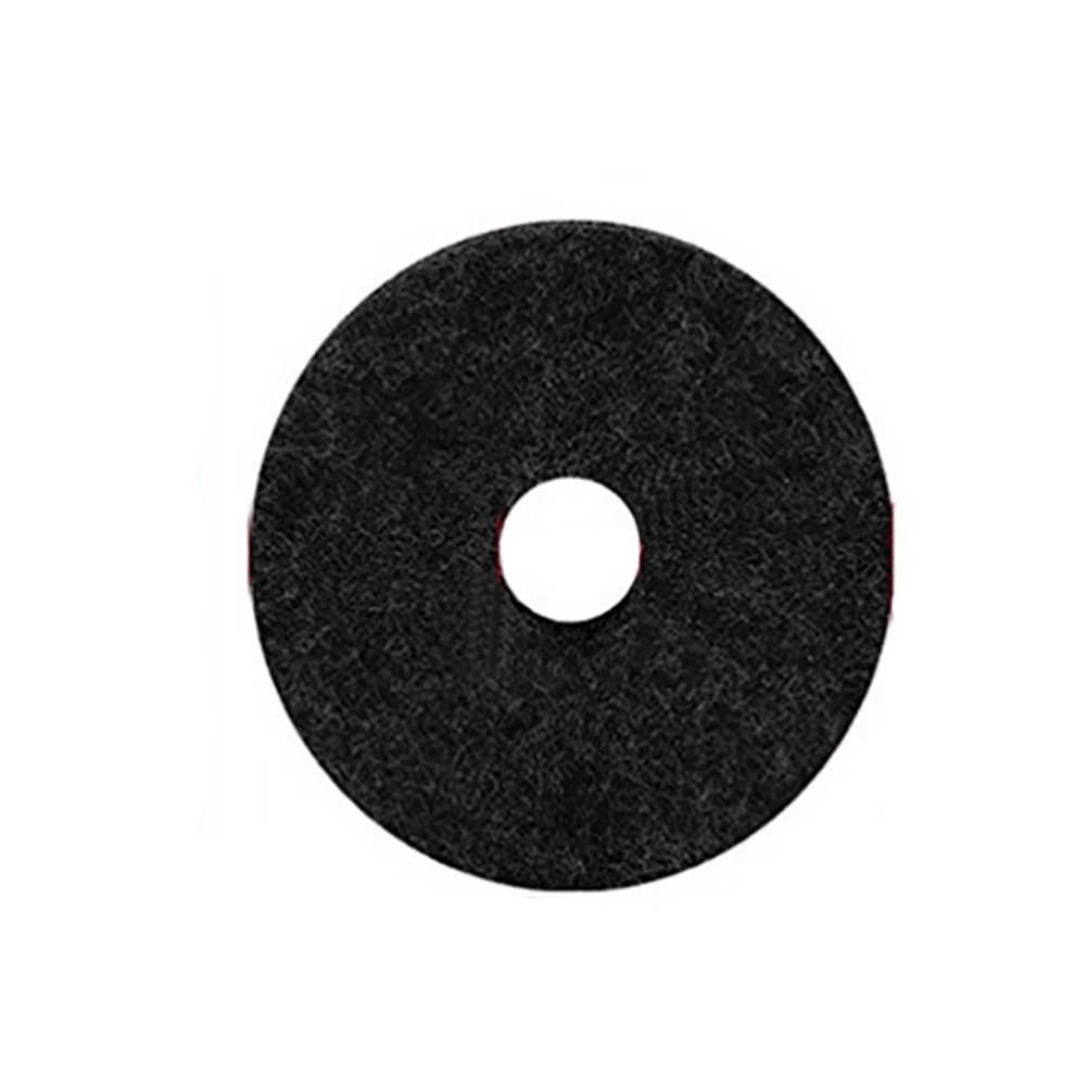 10 Pcs Ronde Anti Wrijving Drum Vervanging Solid Beschermende Gemakkelijk Installeren Universele Vilt Wasmachine Onderdelen Accessoires Stand Cimbaal