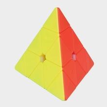 Yuxin Pyramid 3x3x3 Magic cube 3x3x3 kostka rubika mała magiczna czerń Kirin piramida 3x3x3 magiczna kostka 3 #215 3 prędkość kostka 3*3*3 Puzzle Profesjonalna kostka Rubika edukacyjne zabawki kostka do gry tanie tanio CN (pochodzenie) Z tworzywa sztucznego Yuxin Little Magic cube Yuxin Black Kirin Pyramid 3x3x3 Magic cube 5-7 lat 8-11 lat