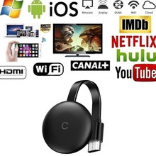 G12 tv vara para chromecast 4k hd hdmi media player 5g/2.4g wifi tela dongle espelhamento 1080p hd tv para a casa do google
