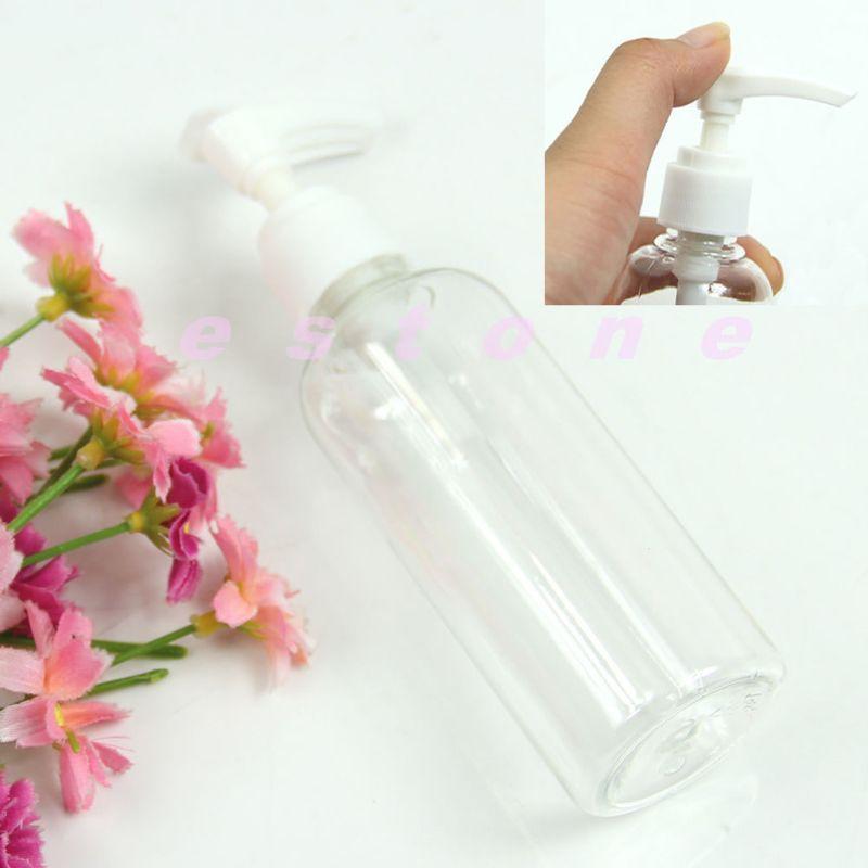 Купить с кэшбэком 100mL Plastic Empty Pump Portable Perfume Atomizers Water Sprayer Bottle New