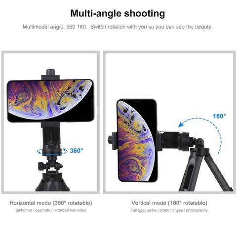 PULUZ Pocket 5-mode Adjustable Desktop Tripod Mount with 1/4 inch Screw for DSLR & Digital Cameras, Adjustable Height: 23-28cm Multan